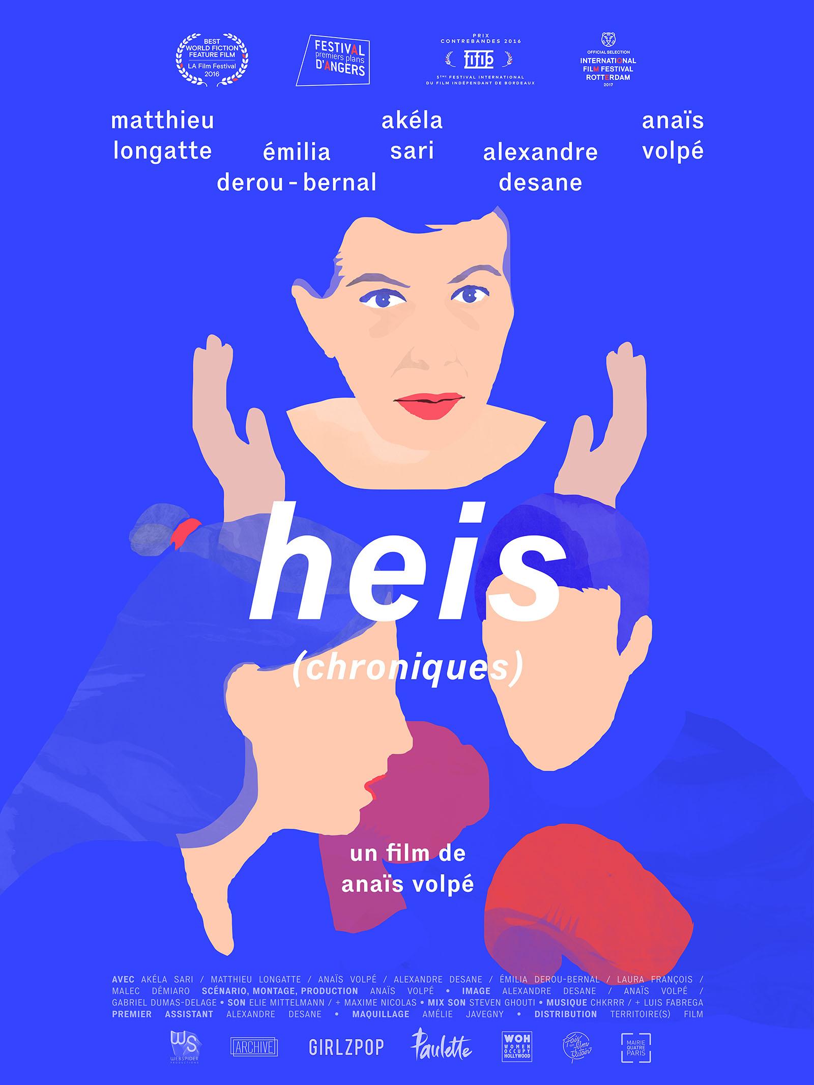 heis chroniques, un film d'anais volpe
